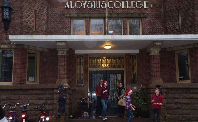 Kerstmarkt St. Aloysius College, december 2014