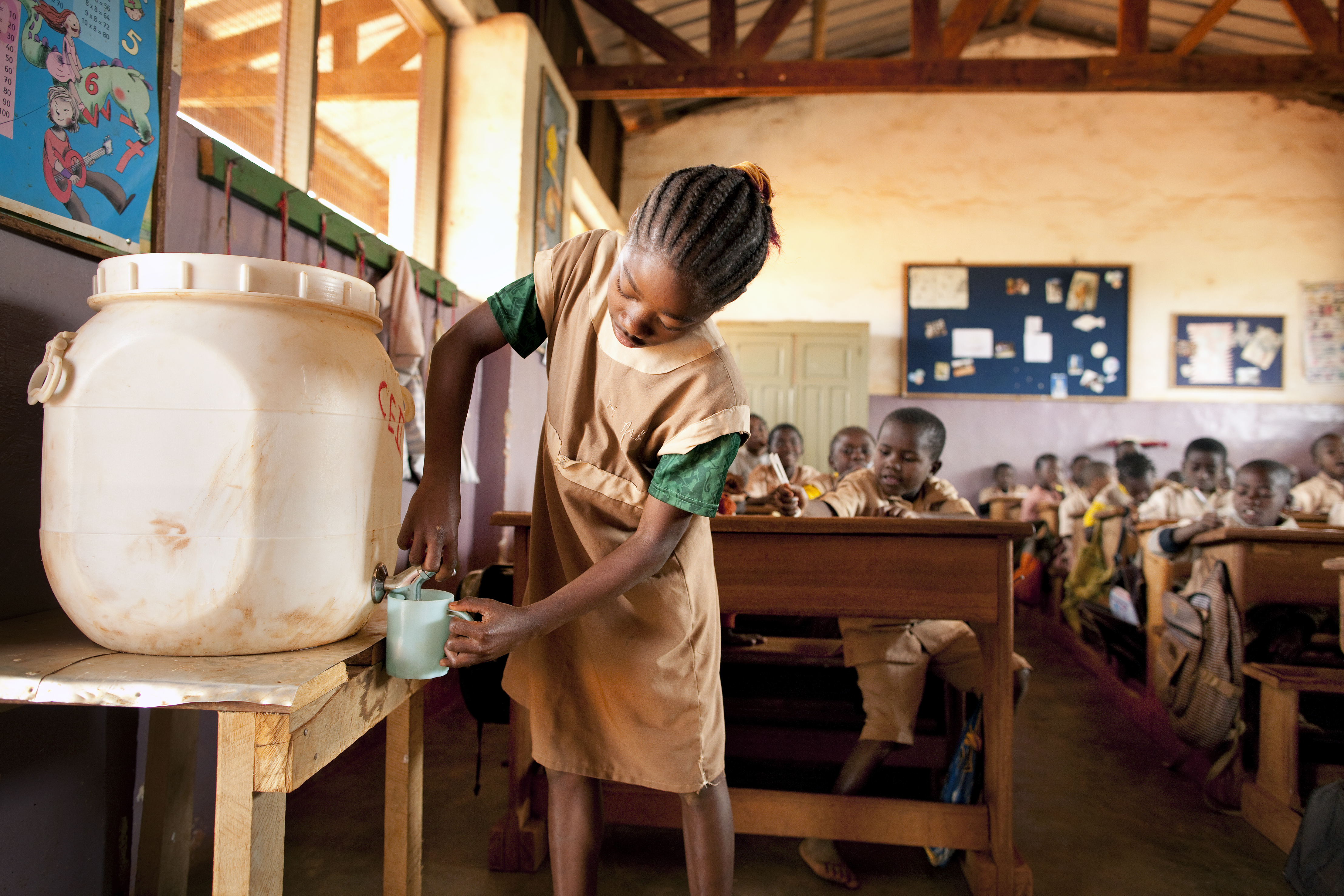 Project waterpomp gereed! – een stimulans voor gezondheid en hygiene