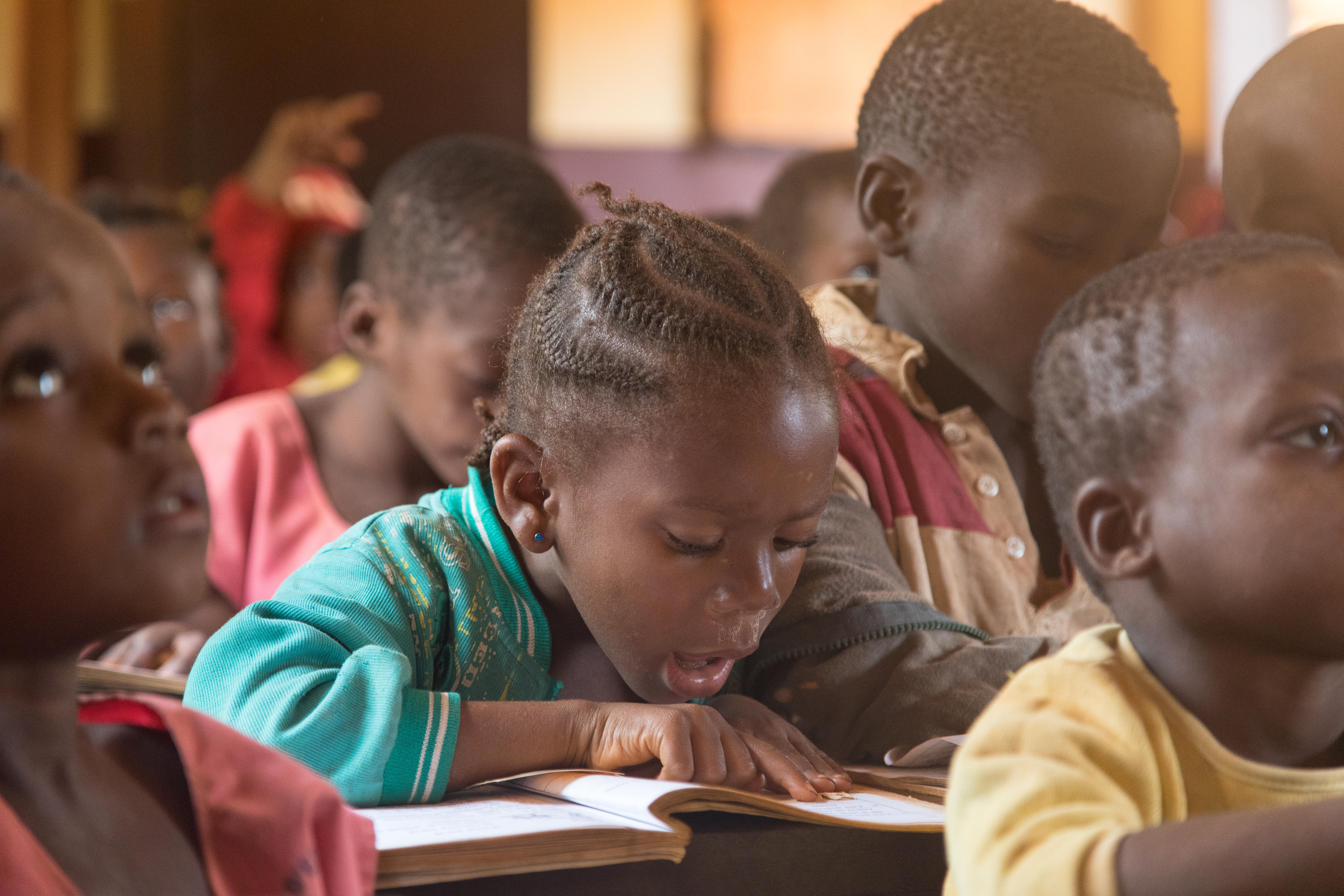 Enthousiasme op de 'Baka' scholen rond Djouth