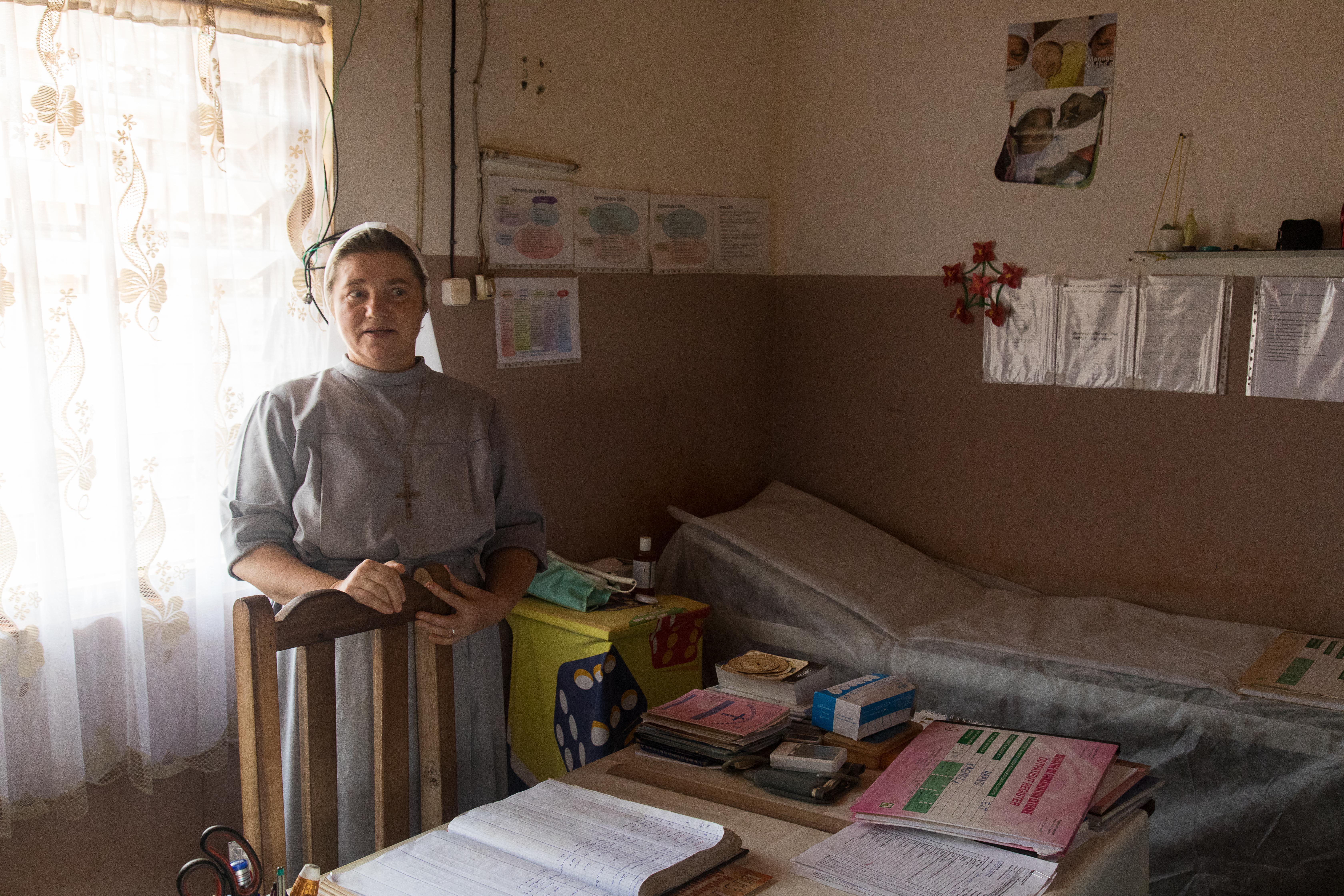 Gezondheidspost in Djouth